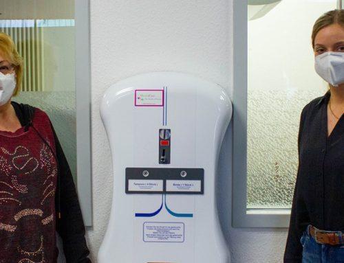 Kostenlose Damenhygieneartikel